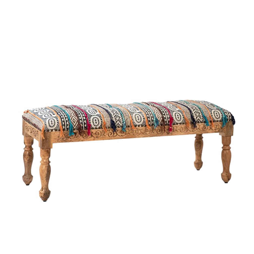 Boheme Bench Chestnut
